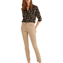 Buy Gerard Darel Mathilda Trousers, Beige Online at johnlewis.com