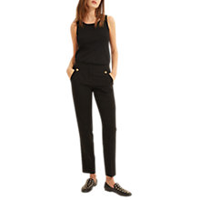 Buy Gerard Darel Marine Trousers, Black Online at johnlewis.com