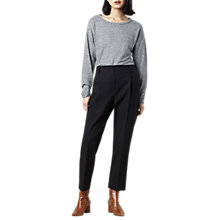 Buy Finery Oliver Peg Trousers, Black Online at johnlewis.com