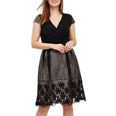 Studio 8 Romola Dress, Black/Blush