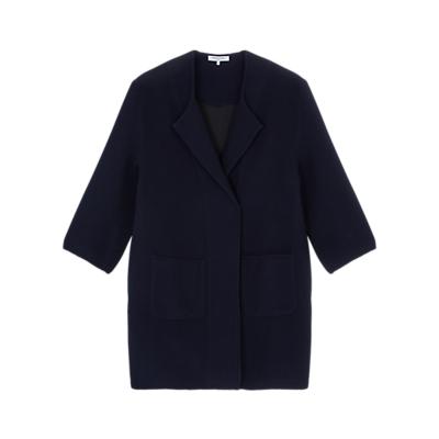 Gerard Darel Bianca Coat, Blue