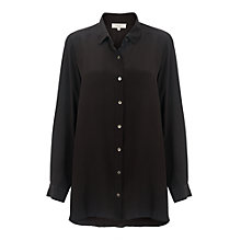 Buy East Silk Longline Shirt Online at johnlewis.com