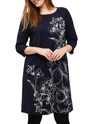 Studio 8 Aubrey Floral Dress, Navy