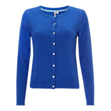 Buy White Stuff Easel Cardigan, Dawn Blue Online at johnlewis.com
