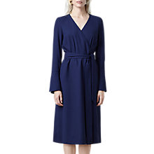 Buy Finery Gervase Wrap Dress, Bright Blue Online at johnlewis.com