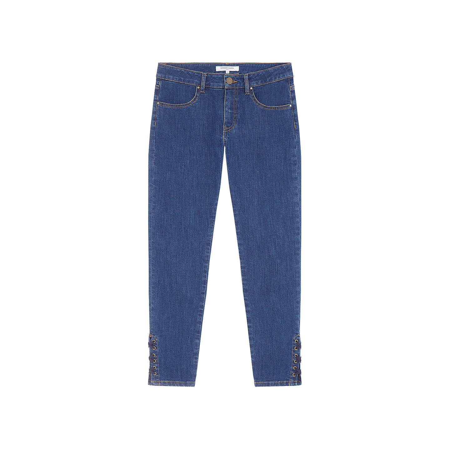 BuyGerard Darel Martha Jeans, Blue, 10 Online at johnlewis.com