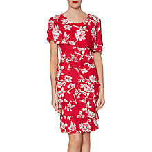 Buy Gina Bacconi Esme Tiered Floral Print Dress Online at johnlewis.com