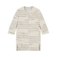 Buy Gerard Darel Beverly Coat, Ecru Online at johnlewis.com