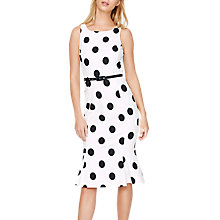 Buy Damsel in a Dress Lillia Spot Dress, Ivory/Black Online at johnlewis.com