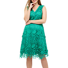 Buy Studio 8 Isabella Dress, Green Online at johnlewis.com