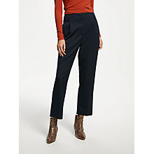 Buy Finery Oliver Peg Trousers, Navy Online at johnlewis.com