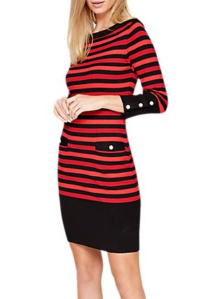 Damsel in a Dress Azelia Stripe Dress, Multi