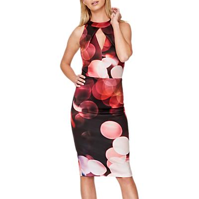 Damsel in a Dress Bright Lights Structured Dress, Multi