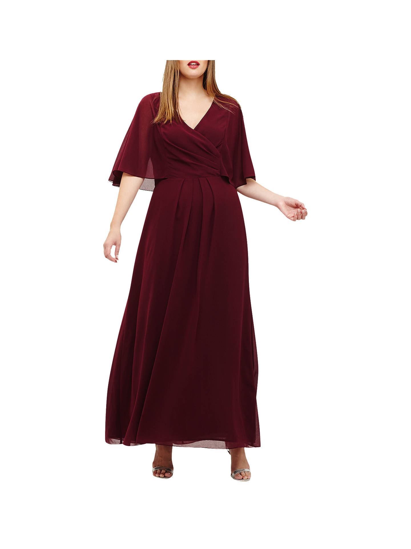 BuyStudio 8 Opal Dress, Berry, 12 Online at johnlewis.com