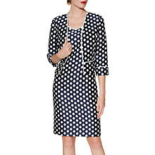 Buy Gina Bacconi Beverly Spot Print Dress And Jacket Online at johnlewis.com