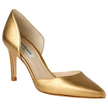 Buy L.K. Bennett Flossie Stiletto Heeled Court Shoes, Bronze Online at johnlewis.com