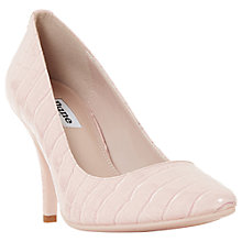 Buy Dune Aeryn Stiletto Heeled Court Shoes, Blush Online at johnlewis.com