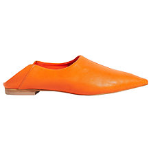 Buy Jigsaw Bassin Pointed Toe Loafers Online at johnlewis.com