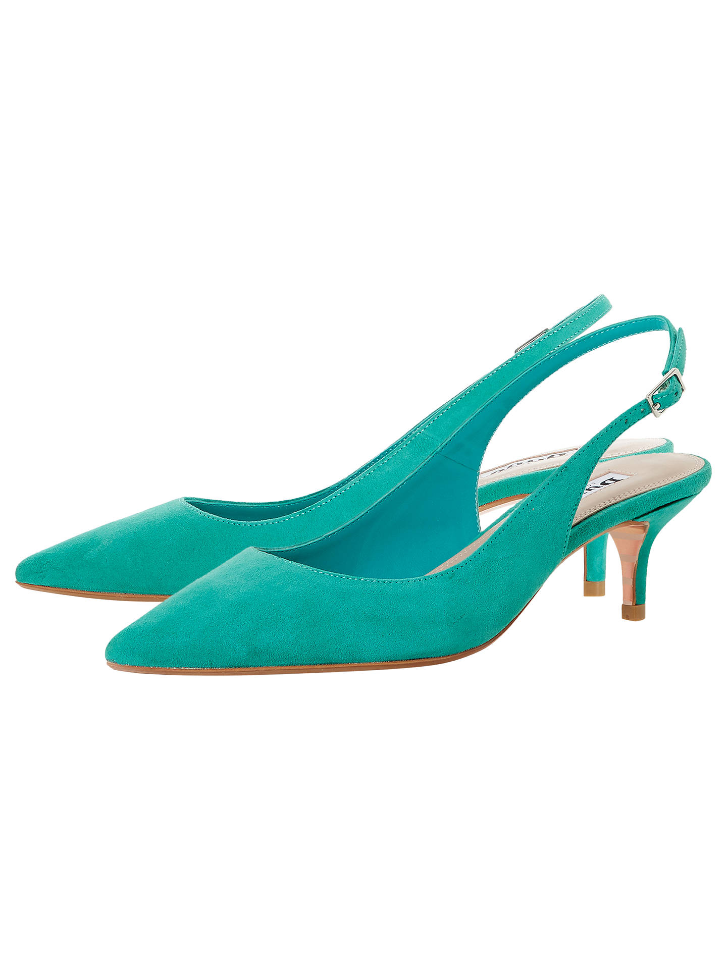 c272da4f293 Dune Casandra Kitten Heel Slingback Court Shoes at John Lewis   Partners