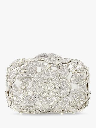 Dune Celebration Diamante Hard Case Clutch Bag d9de12b5015a