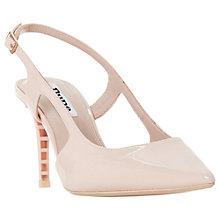 Buy Dune Crowne Slingback Court Shoes Online at johnlewis.com