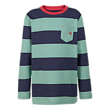 Buy Fat Face Boys' Striped Ringer T-Shirts Online at johnlewis.com