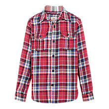 Buy Fat Face Boys' Bramber Check Shirt Online at johnlewis.com