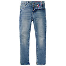 Buy Fat Face Boys' Slim Fit Jeans, Mid Wash Online at johnlewis.com