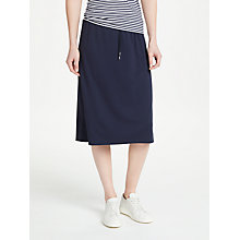 Buy Gerry Weber Drawstring Jersey Skirt, Ink Online at johnlewis.com