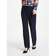 Buy Gerry Weber Pamela Straight Leg Trousers, Navy Online at johnlewis.com