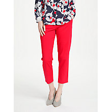 Buy Gerry Weber 7/8 Cigarette Trousers, Chilli Online at johnlewis.com