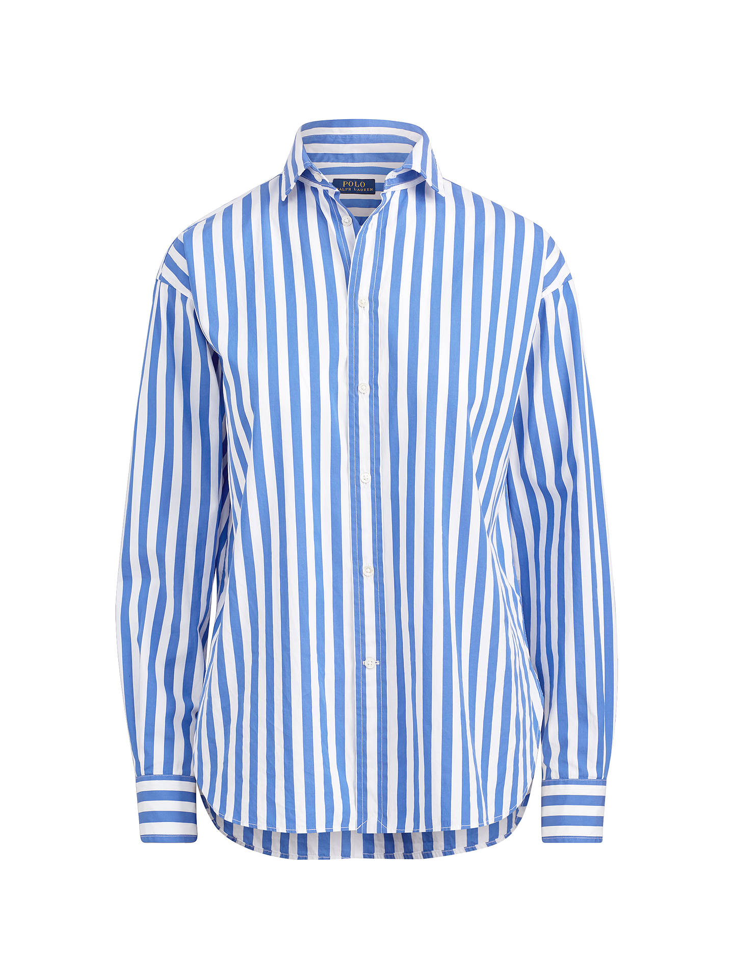 5d1f08d1f ... buy buypolo ralph lauren striped shirt blue white 8 online at johnlewis  47b09 6358c