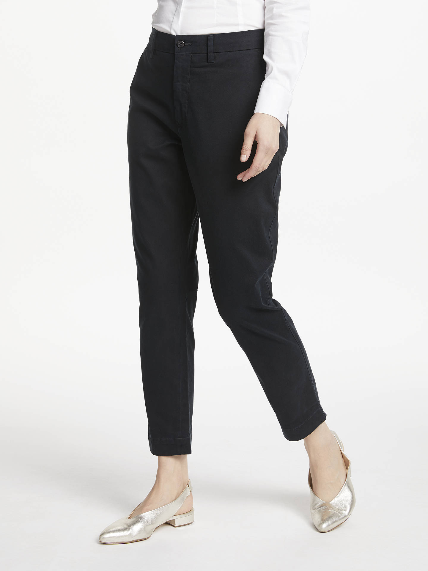 BuyPolo Ralph Lauren Brooke Stretch Twill Cropped Trousers 106b15c2829