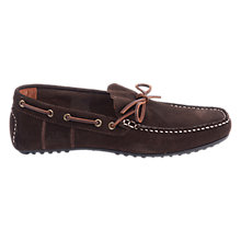 Buy Barbour Eldon Suede Penny Driver Loafers Online at johnlewis.com