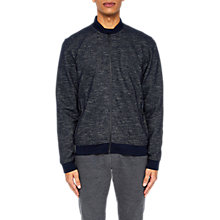 Buy Ted Baker Tooba Bomber Jacket, Navy Online at johnlewis.com