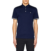 Buy Ted Baker Puggle Cuff Stripe Polo Shirt Online at johnlewis.com