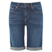 Buy White Stuff Isla Long Denim Shorts, Denim Online at johnlewis.com