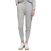 Buy Whistles Waffle Lounge Joggers, Grey Marl Online at johnlewis.com