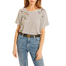 Buy Gerard Darel Priscilla T-Shirt, Black Online at johnlewis.com