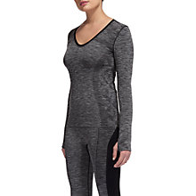 Buy Whistles Long Sleeve Sports Top, Grey Online at johnlewis.com