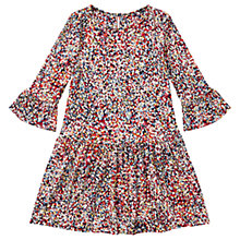 Buy Jigsaw Girls' Confetti Print Dress, Navy/Multi Online at johnlewis.com