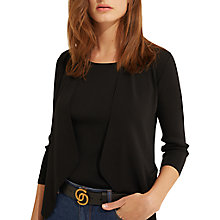 Buy Gerard Darel Fine Knit Cardigan, Black Online at johnlewis.com