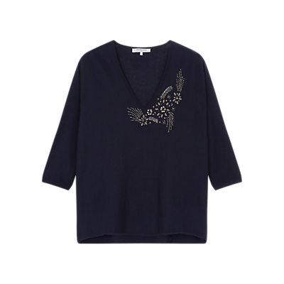 Gerard Darel Fauve Jumper, Blue
