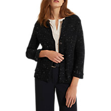 Buy Gerard Darel Felin Sequin Cardigan, Midnight Online at johnlewis.com