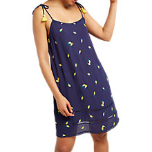 Buy White Stuff Lilly Lemon Dress, Rockpool Blue Print Online at johnlewis.com