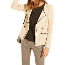 Buy Gerard Darel Raphael Jacket, Ecru Online at johnlewis.com