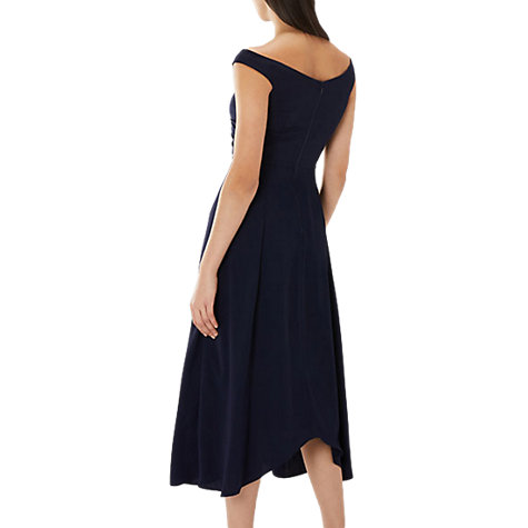 Buy Coast Ali Bardot Dress, Navy Online at johnlewis.com