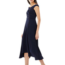 Buy Coast Ali Bardot Dress, Short, Navy Online at johnlewis.com