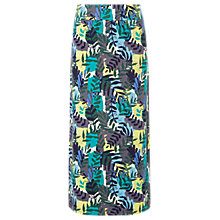Buy White Stuff Tropical Leaf Print Jersey Skirt, Multi Online at johnlewis.com
