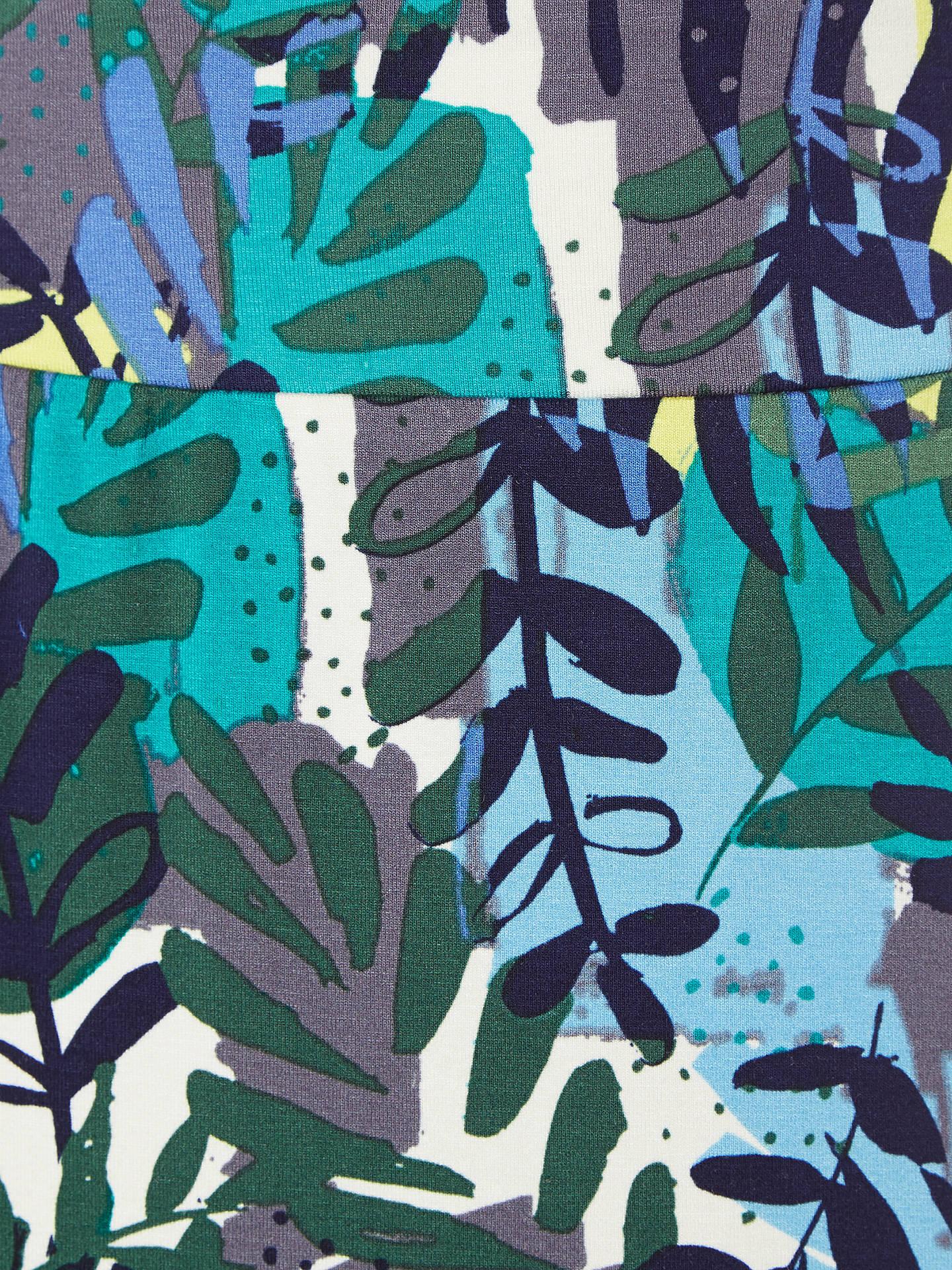 a7cde0de06 Buy White Stuff Tropical Leaf Print Jersey Skirt, Multi, 6 Online at  johnlewis.